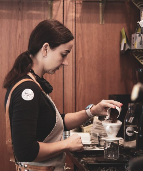 Kavárna s výběrovou kávou a trendy bistrem v Krnově